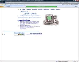 CyberGuru Web 2000 formally Christopher Jeffery Computer Solutions (CyberGuru) (2000)