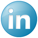 LinkedIn social_linkedin_button_blue_128