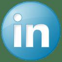LinkedIn social_linkedin_button_blue_128