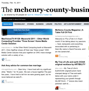 Mchenry County Daily Busisness News