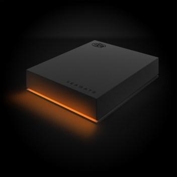 FireCudaGamingHardDrive-15mm_Left_OrangeLED_Dark_Hi-Res_3000x3000