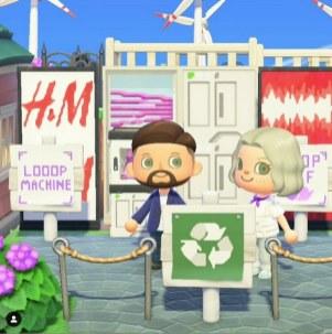H&M e Maisie Williams sbarcano in Animal Crossing New Horizons (1)