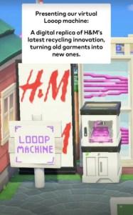 H&M e Maisie Williams sbarcano in Animal Crossing New Horizons (3)