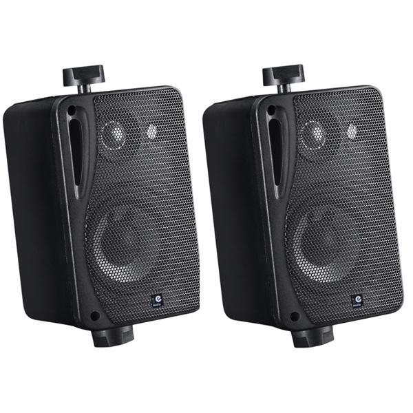 E Audio 3 Way Wall Mounted Box Speaker 5 25