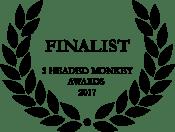 Finalist on the 3 Headed Monkey awards 2017