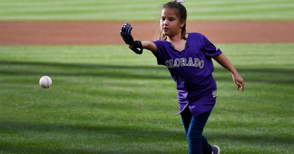 How Hailey Dawson pitched at every MLB stadium with 3D-printed hand