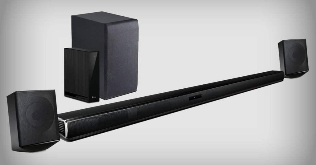 Cheap Surround Sound: LG 4.1 Channel Soundbar System For Just $197