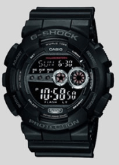 10. CASIO G-SHOCK GD-100-1B