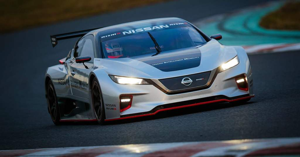 2018 Nissan Leaf Nismo RC Packs a 332-Horsepower Electric Punch