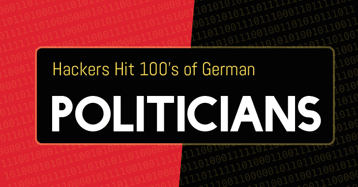 Hundreds of German politicians hacked