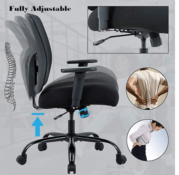 Office Chair Big and Tall:-