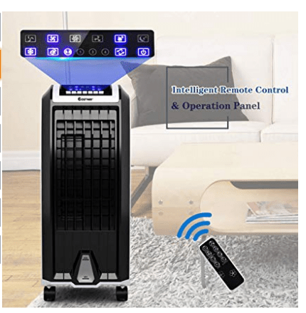 Air coorler for room portable with ice