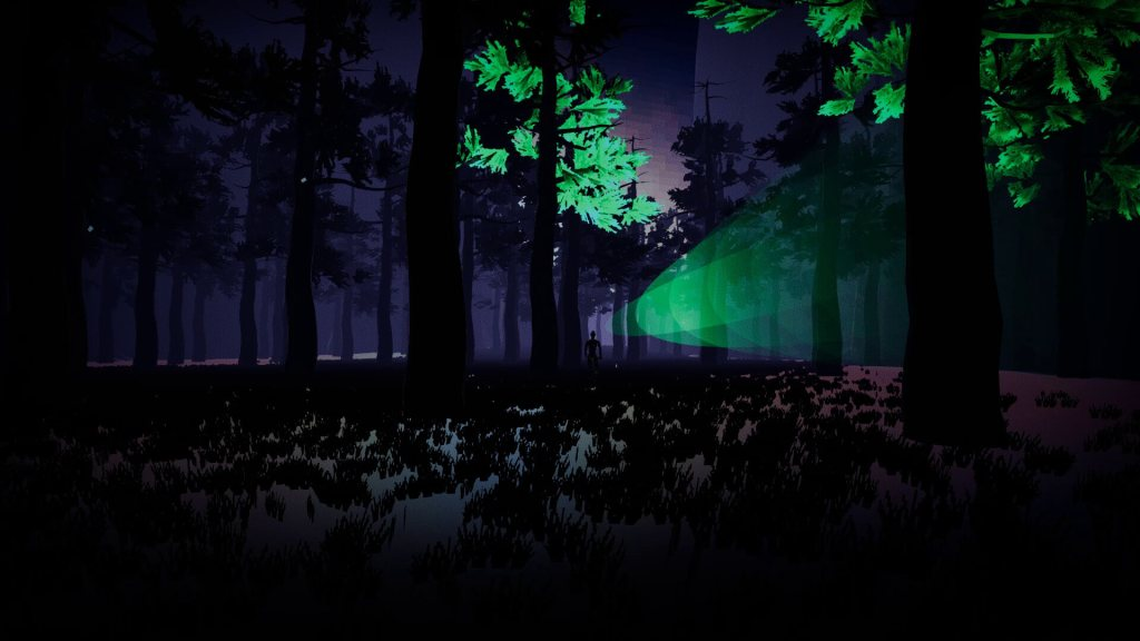 One of the virtual worlds of Wild Dose that you get to explore when under the influence of the game's cyberdrugs.
