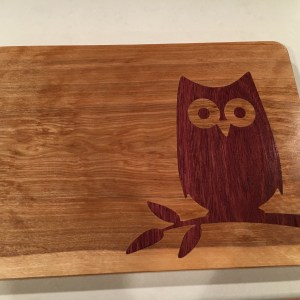 Owl Cutting Board