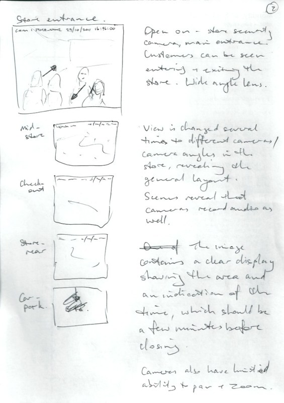 Storyboard page 2