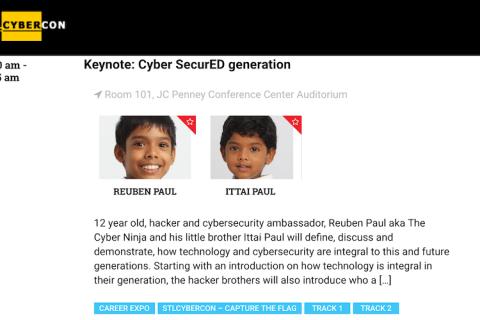 Cyber SecurED Generation – STL CyberCon (2018)