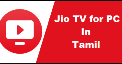 jio tv on pc tamil