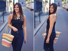 Le jean taille haute: Look tendance!