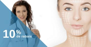 Botox et seringues de volumisants: 10% de rabais!