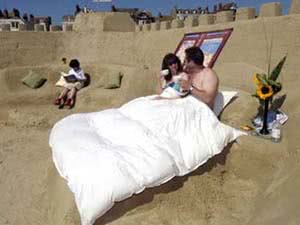 World's first sand hotel