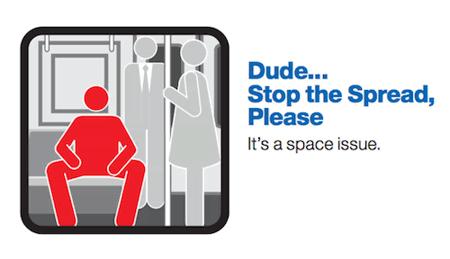 Dude, Close Your Legs.