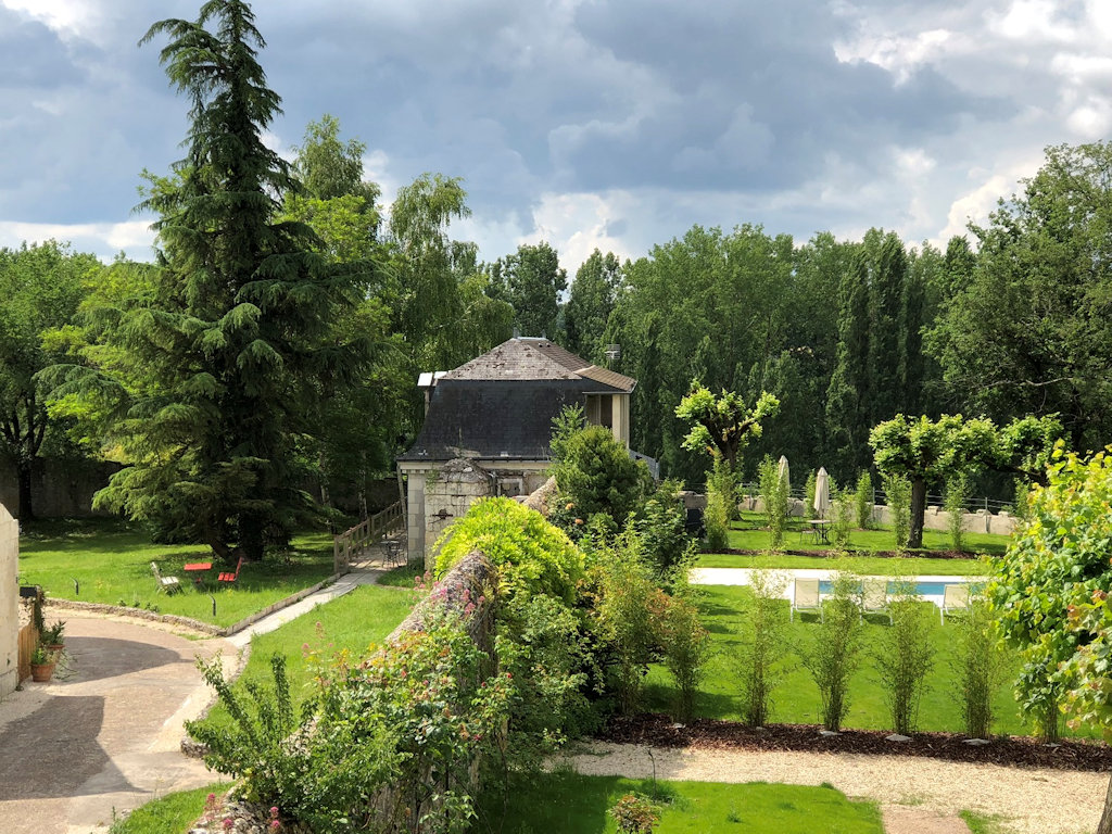 Domaine Plessis Gallu Chalets Azay Le Rideau Campagne