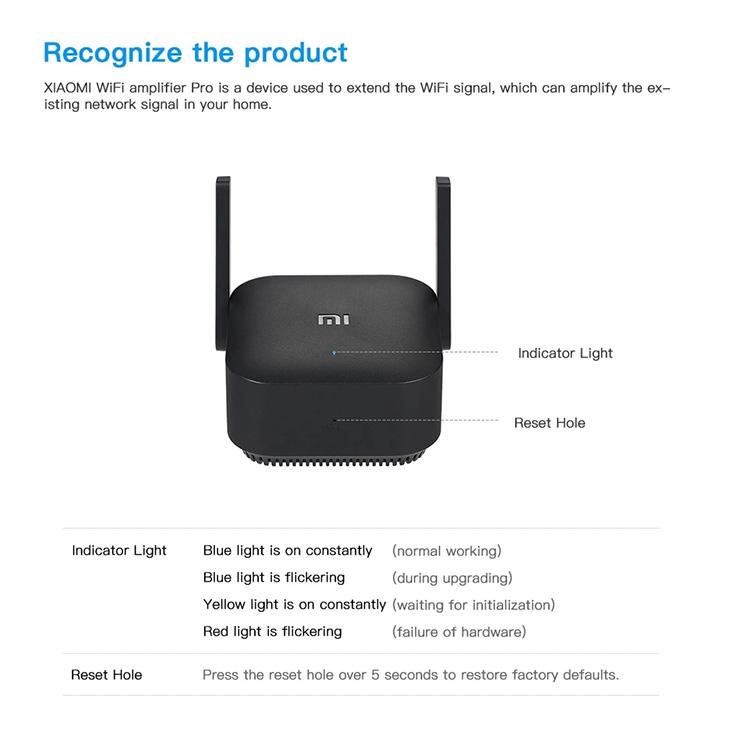 WiFi Booster Xiaomi Mijia 300M Pro