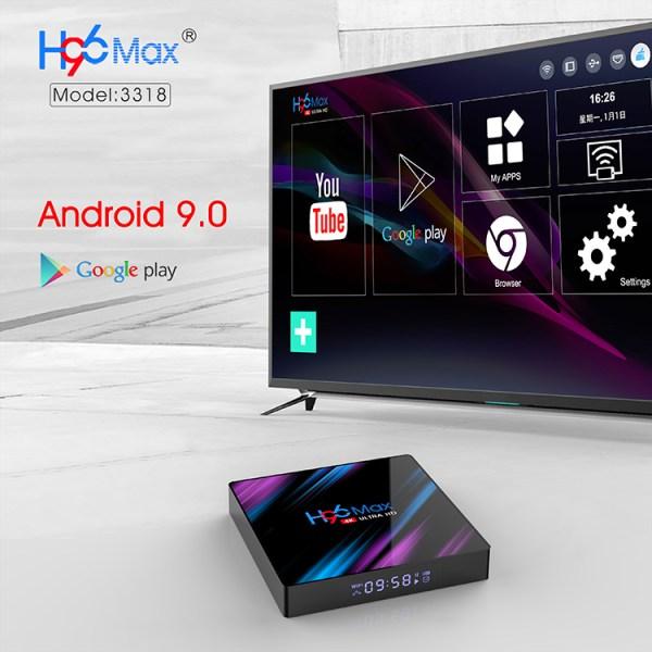 Android TV Box H96 MAX RK3318 4GB 64GB 4K