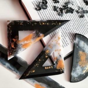 Clear Resin Epoxy Art Supplies Kit 1L