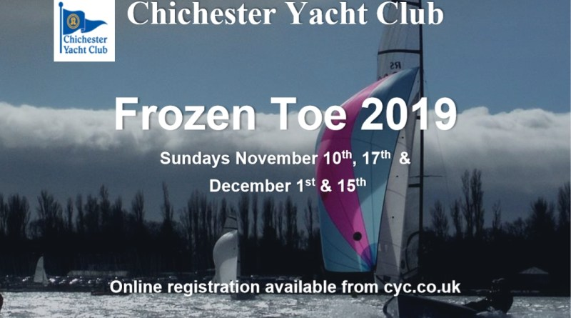 Frozen Toe Series starts 10th November