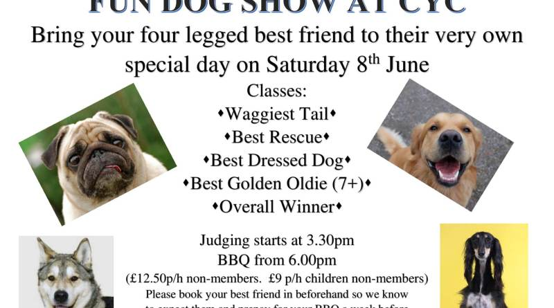 Fun Dog Show Saturday 8th June