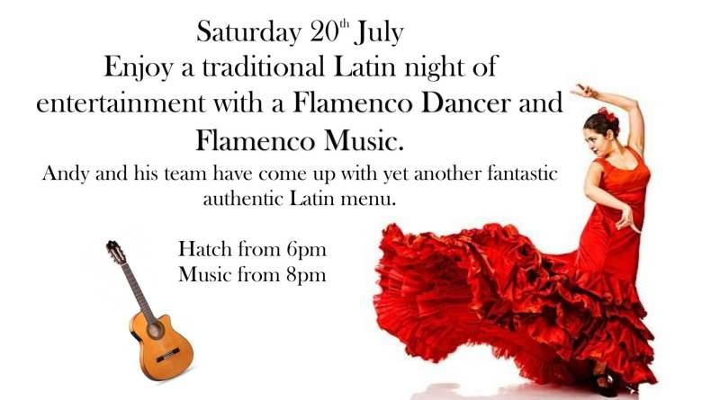 Flamenco Night 20th July