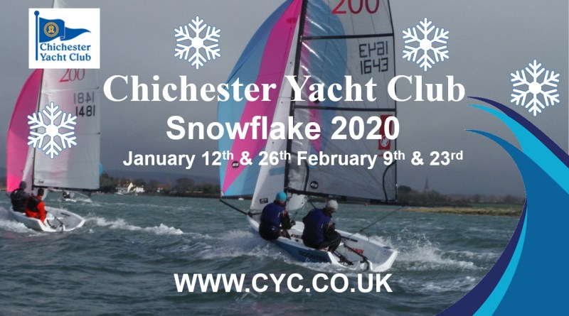 CYC Snowflake – 23rd Feb – Change to Sailing Instructions