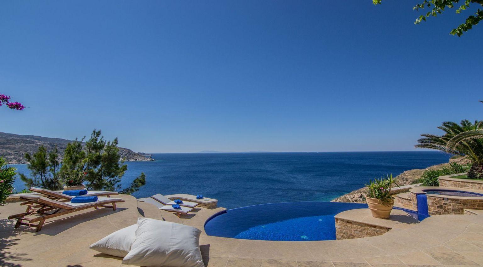 Cycladic Gem Luxury Villa Rental Ios Island