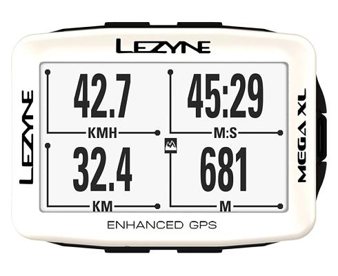 LEZYNE MEGA XL GPS WHITE Limited