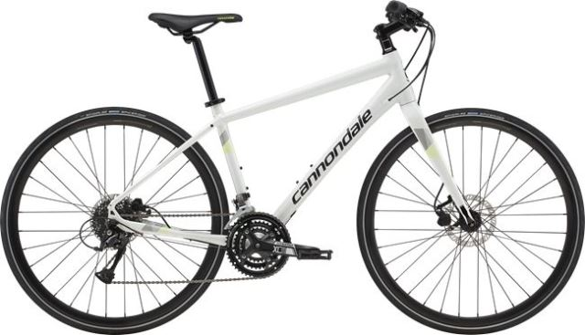 cannondale QUICK DISC 4 WHT 2019