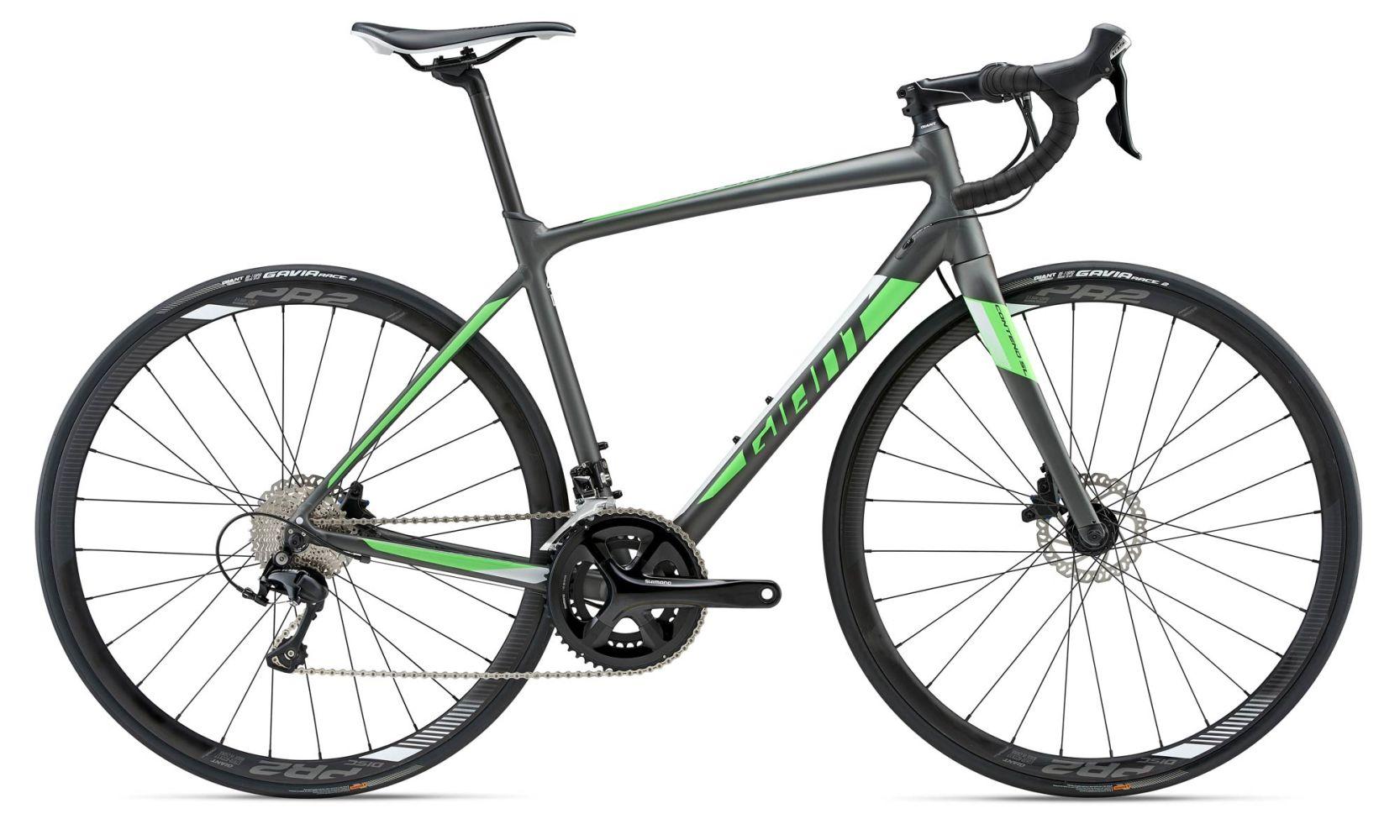 Giant Contend Sl 1 Disc Road Bike In Charcoal 959 20