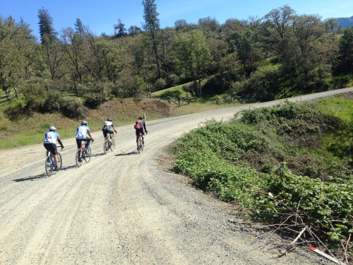 First of the gravel on Little Applegate Road.