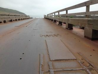 Steel bridge.