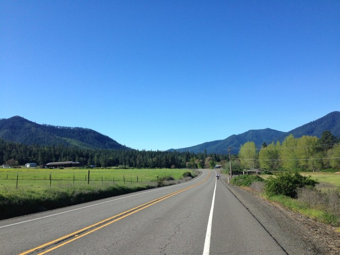 The Applegate Valley in spring.