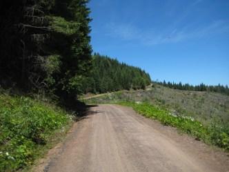 Ridgeline outside of town.