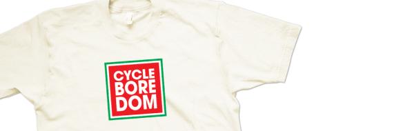 Cycleboredom Logo T-shirt