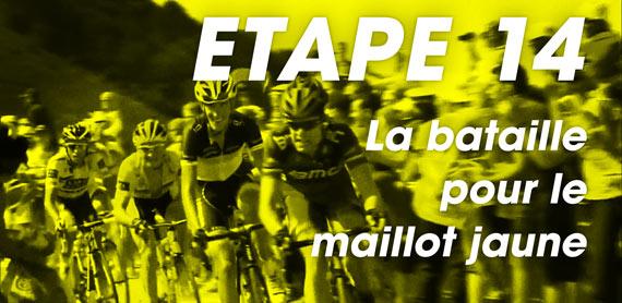 Cycleboredom | Etape 14 - La Bataille Pour Le Maillot Jaune