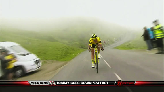 Cycleboredom | Thomas Voeckler Still Descending For The Cameras