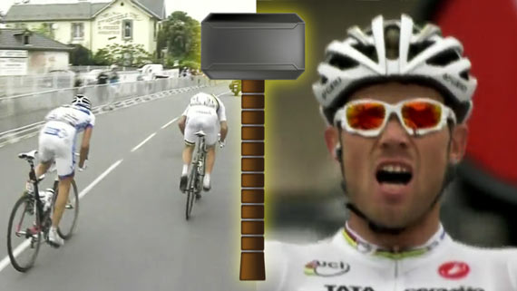 Cycleboredom | Thor Hushovd Droppin' Hammers