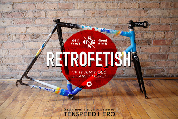 Cycleboredom | RETROFETISH: The Colnago C40 - Tenspeed Hero C40 Frame