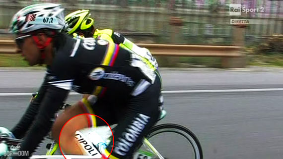 Cycleboredom | Screencap Recap: Milan-San Remo - Cipo Between A Man's Legs
