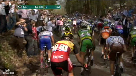 Cycleboredom | Screencap Recap: Dwars Door Vlaanderen & E3 Prijs Vlaanderen - Harelbeke - Gilbert In The Back