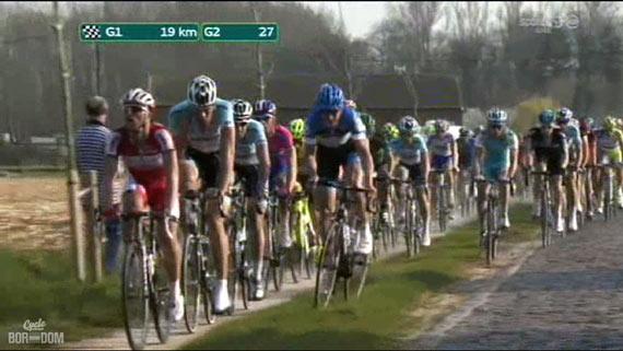Cycleboredom | Screencap Recap: Dwars Door Vlaanderen & E3 Prijs Vlaanderen - Harelbeke - Sep Crossing