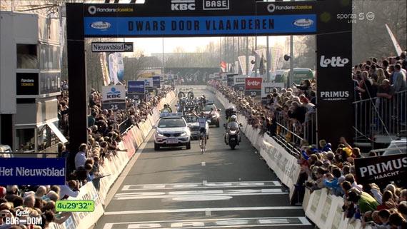 Cycleboredom | Screencap Recap: Dwars Door Vlaanderen & E3 Prijs Vlaanderen - Harelbeke - Terpstra Is Winnaar
